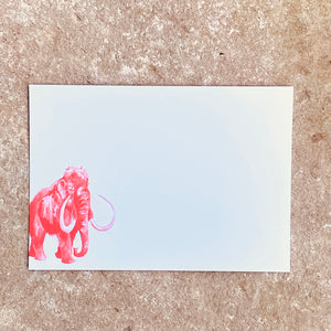 Mammouth Postcards and envelopes | Pack of 10