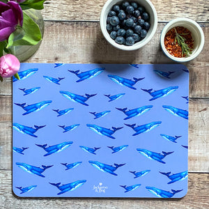 Large Whale Placemat