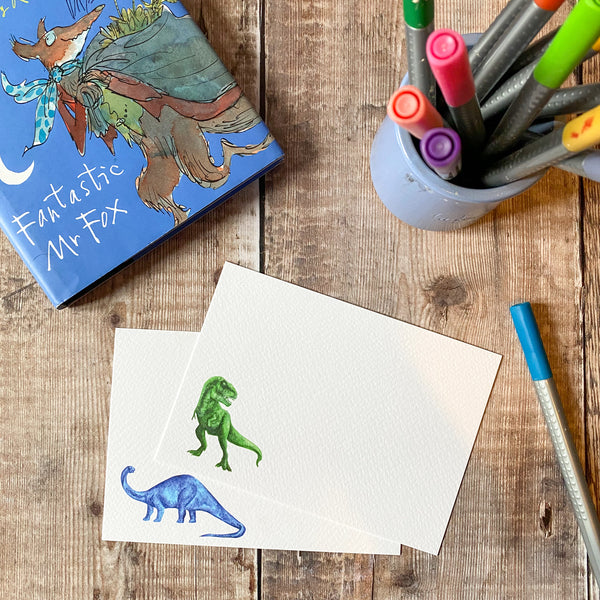 Dinosaur notecards