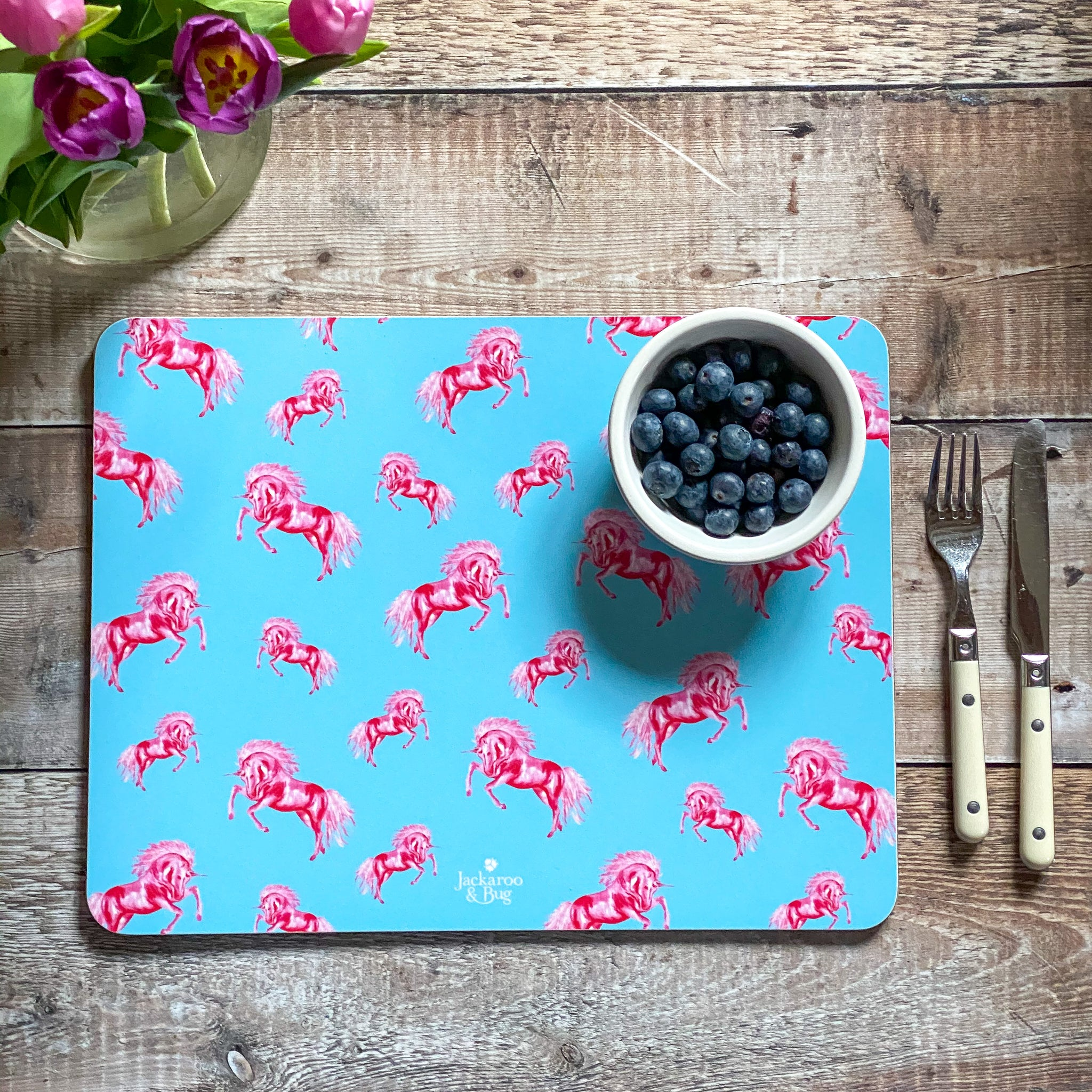 Large Unicorn Placemat