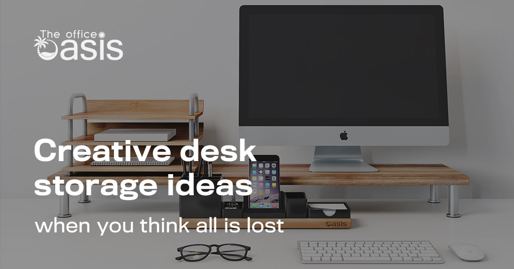 Creative Desk Storage Ideas When You Think All Is Lost