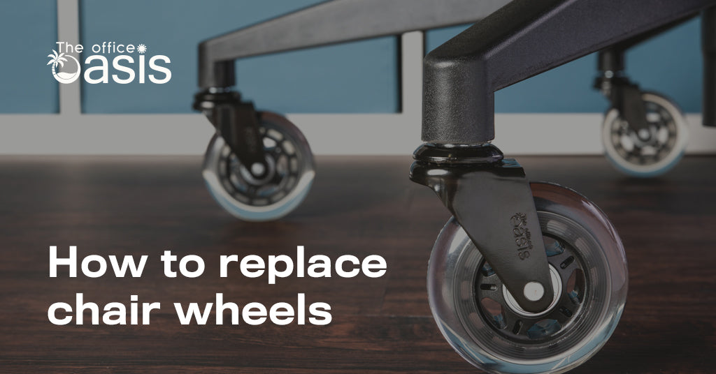 How To Replace Chair Wheels - Amazingly Easy Solution
