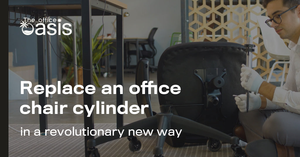 Revolutionary New Way To Replace an Office Chair Cylinder