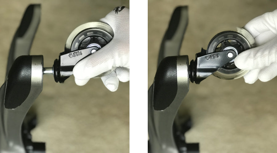 install rollerblade chair wheels