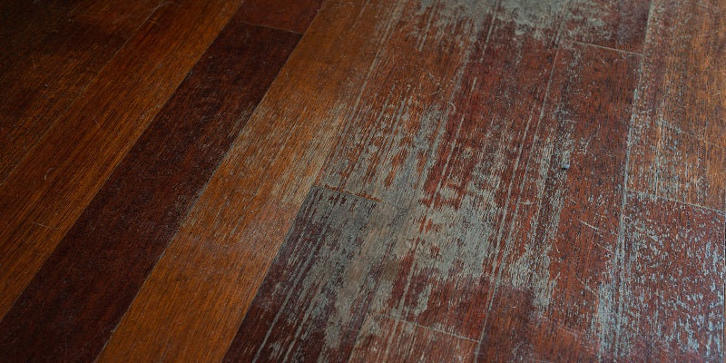 damaged office flooring