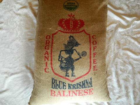 Bali Organic blue moon coffee bag 15