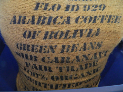 Organic Bolivian Caranavi coffee bag K