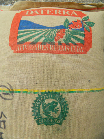 Daterra Santa Colomba coffee bag from Brazil e