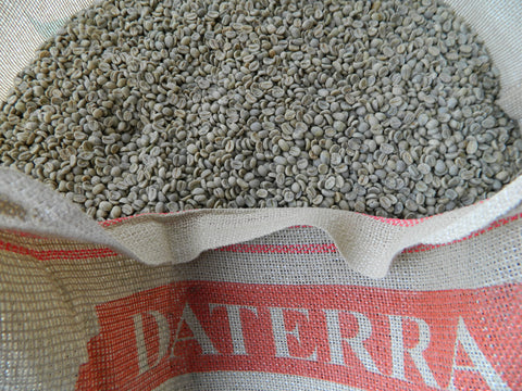 Brazil Daterra Santa Colomba unroasted coffee beans e
