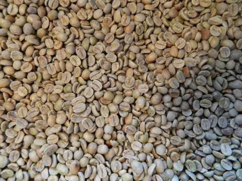 Brazil Sul de Minas pulp natural raw coffee beans H