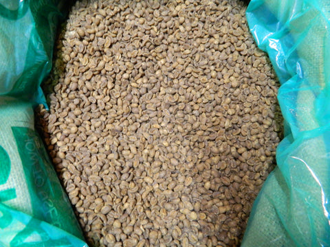 Swiss Water Process Decaf Ethiopia Yirg unroasted coffee beans MM