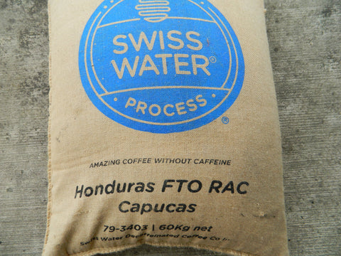 Decaf Organic Honduras Coffee Bag j
