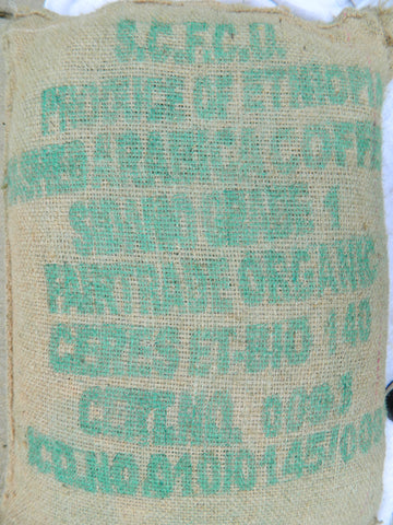 Organic Ethiopia Arabica SCFCU Coffee Bag a