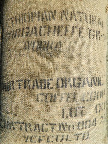 Organic Ethiopia WORKA Yirg Natural coffee bag j