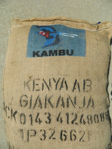 Kenya Giakanja Mombasa AB+ coffee bag y