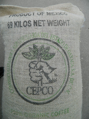 Organic Mexico Cepco Oaxaca coffee bag t