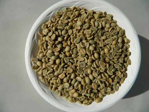 Organic Fair Trade Mexico Oaxaca raw coffee beans t