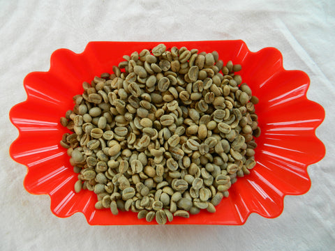 Organic Mexico Cheapas raw coffee E