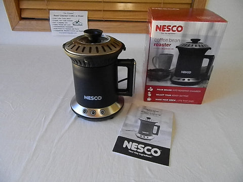 New NESCO home coffee bean roaster 21