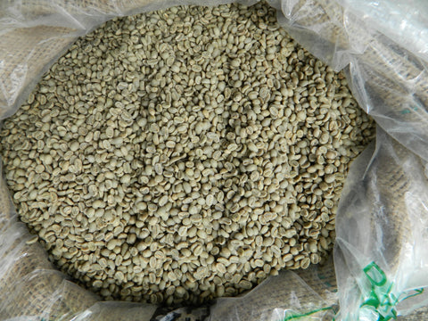 Ethiopia Edido Organic FT raw coffee beans h