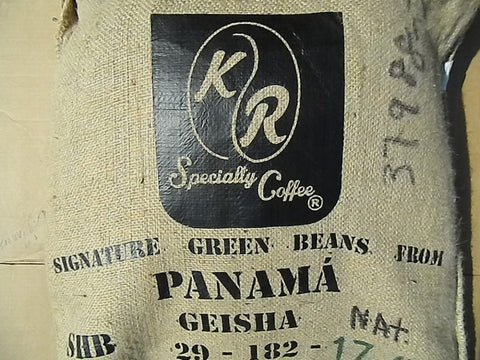 Finca La Berlina Natural Gesha coffee bag Y
