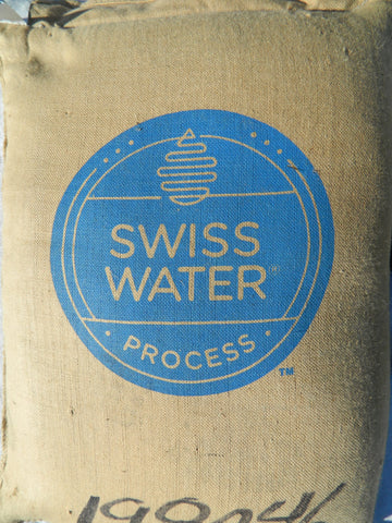 Swiss Water Process decaf coffee bag c