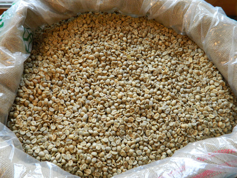 Yemen Haraaz Mountains AA unroasted coffee beans E