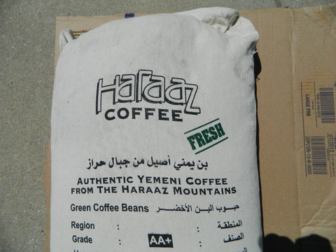Coffee Bag Yemen Haraaz Fresh AA+ s
