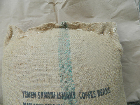 Yemen Sanani Ismaily Arabica Coffee bag K