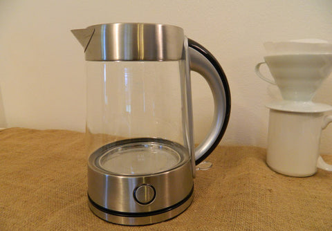Glass Hot Water Kettle by NESCO