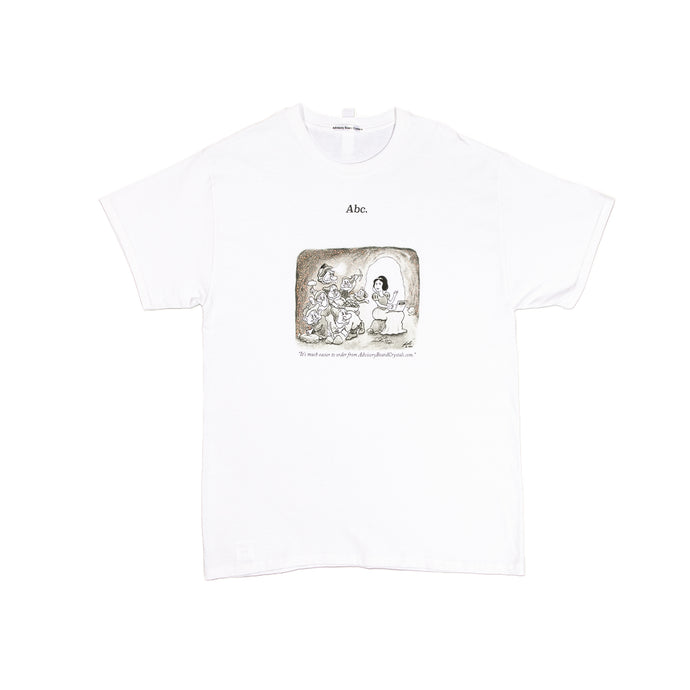 Abc. Crystal Cartoon T-shirt (White)