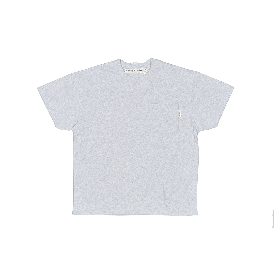 Abc. 123. Short Sleeve Pocket Tee (Cloud)