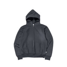 Load image into Gallery viewer, Abc. 123. Zip-Up Hoodie (Anthracite)