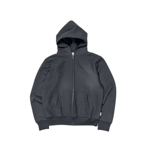 Abc. 123. Zip-Up Hoodie (Anthracite)