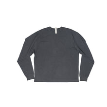 Load image into Gallery viewer, Abc. 123. Long Sleeve Pocket Tee (Anthracite)