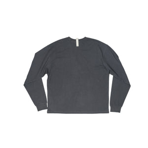 Abc. 123. Long Sleeve Pocket Tee (Anthracite)