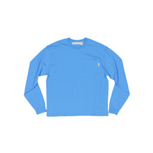 Load image into Gallery viewer, Abc. 123. Long Sleeve Pocket Tee (Chalcanthite)