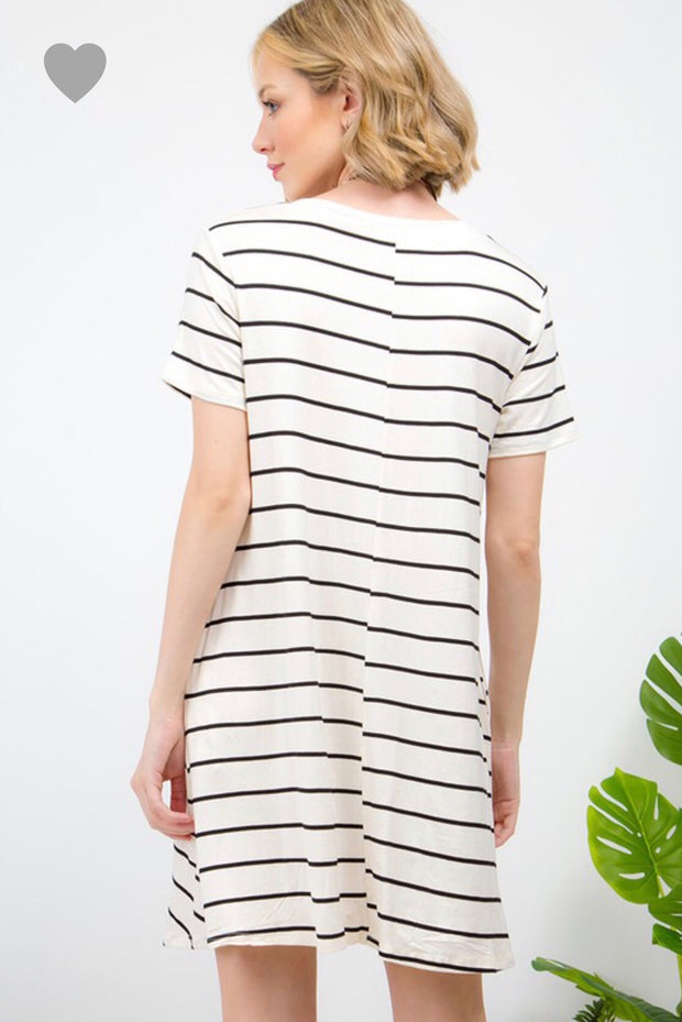 Chelsea T-Shirt Twist Dress