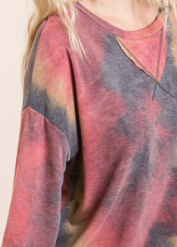 Tie Dye French Terry