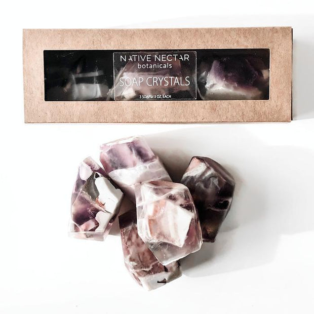 Native Nectar Crystal Soaps
