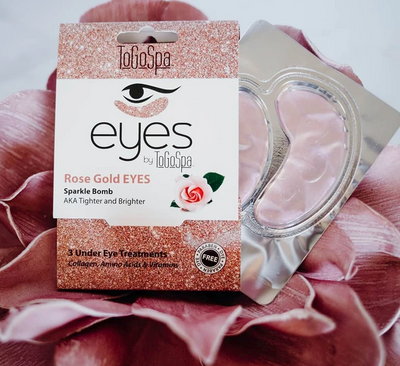 Rose Gold EYES: AKA Tighter & Brighter
