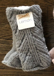 Herringbone Fingerless Glove