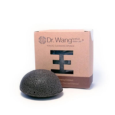 Dr. Wang Charcoal Konjac Cleansing Sponge