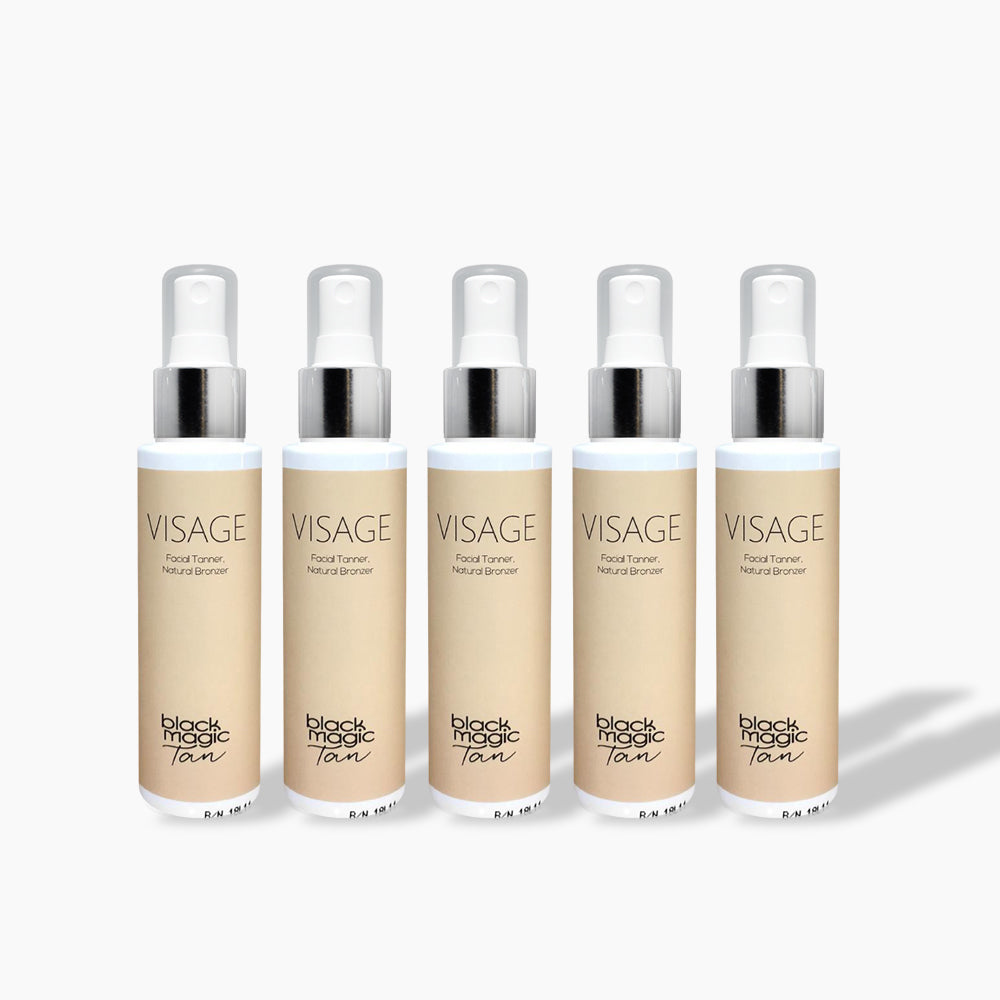 Facial Tanner, Natural Bronzer x 5
