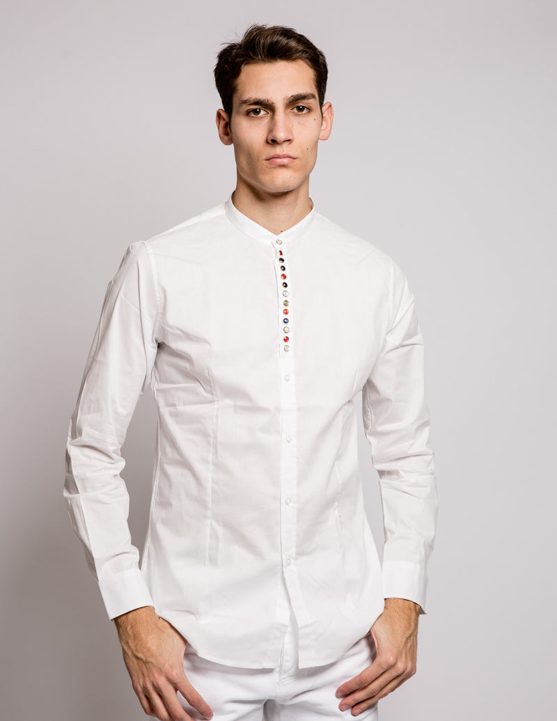 Coloured Seraph Shirt White