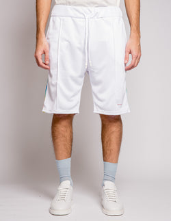 Multicolour Short White