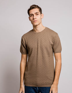 Square Jersey Brown