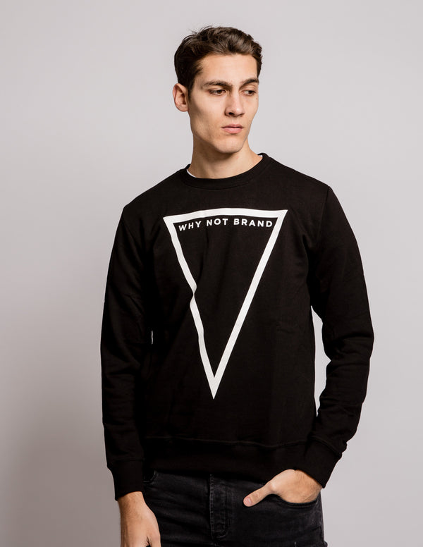 Triangle Sweat Black