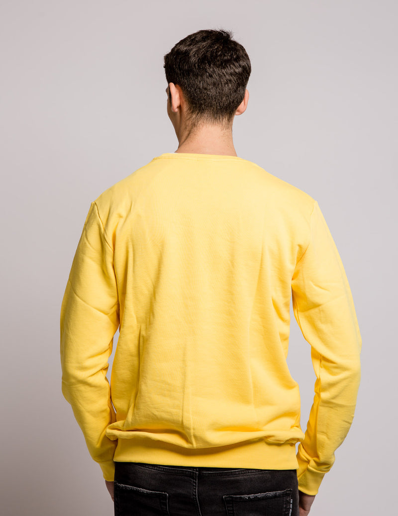 Triangle Sweat Yellow