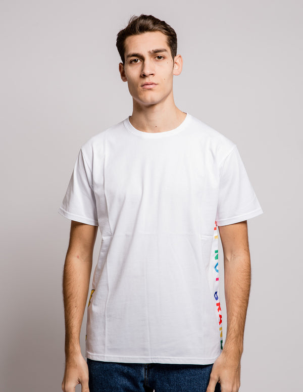 Colour Tee White